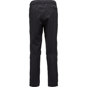 Black Diamond Stormline Stretch Full-Zip Rain Pants Herren black